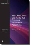 The CARIFORUM and Pacific ACP economic partnership agreements. 9781849290005
