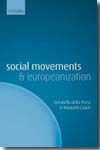 Social movements and europeanization. 9780199557783