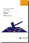 European Criminal Law. 9788484277071
