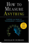 How to measure anything. 9780470539392