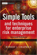 Simple tools and techniques for enterprise risk management. 9781119989974