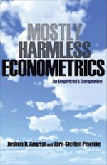 Mostly harmless econometrics. 9780691120355
