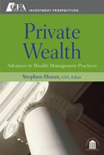 Private wealth. 9780470381137