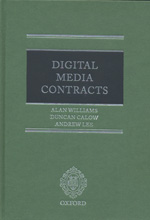 Digital media contracts. 9780199562206