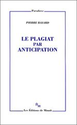 Le plagiat par anticipation. 9782707320667