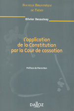 L'application de la Constitution par la Cour de cassation. 9782247082414