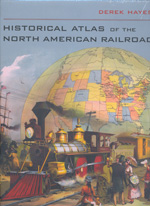 Historical Atlas of the North American railroads