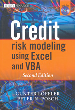Credit risk modeling using Excel and VBA. 9780470660928