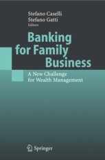 Banking for family business. 9783540227984