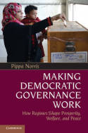 Making democratic governance work. 9781107602694