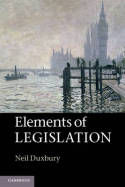 Elements of legislation. 9781107606081