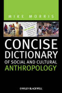 Concise dictionary of social and cultural anthropology. 9781444366983