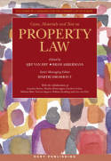 Cases, materials andtext on Property Law. 9781841137506