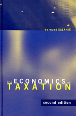 The economics of taxation. 9780262016346