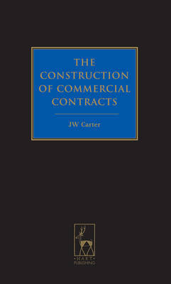 The construction of commercial contracts. 9781849463423