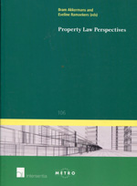 Property Law perspectives. 9781780680934