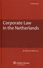 Corporate Law in the Netherlands. 9789041128645