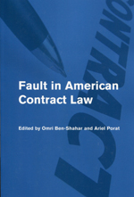 Fault in American contract Law. 9781107612846