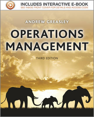 Operations management. 9781119978541