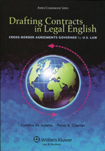Drafting contracts in legal english. 9781454805465