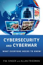 Cybersecurity and cyberwar. 9780199918119
