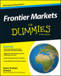Frontier markets for dummies . 9781118615898
