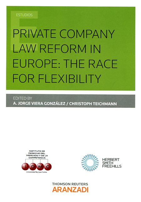 Private company Law reform in Europe. 9788490599419