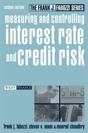 Measuring and controlling interest rate risk