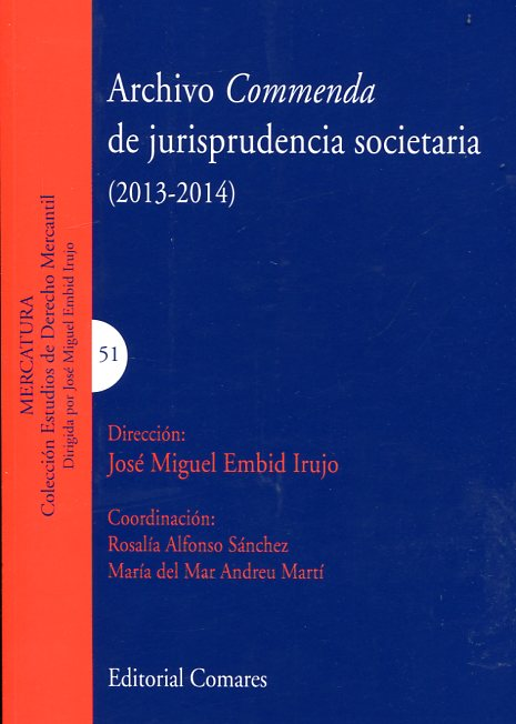 Archivo Commenda de jurisprudencia societaria (2013-2014)