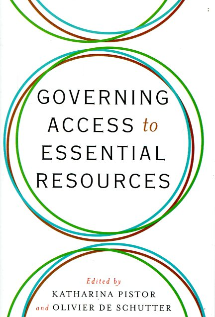 Governing access to essential resources. 9780231172783