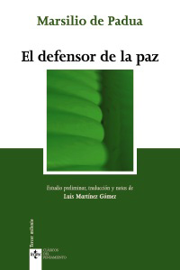 El defensor de la paz. 9788430948574