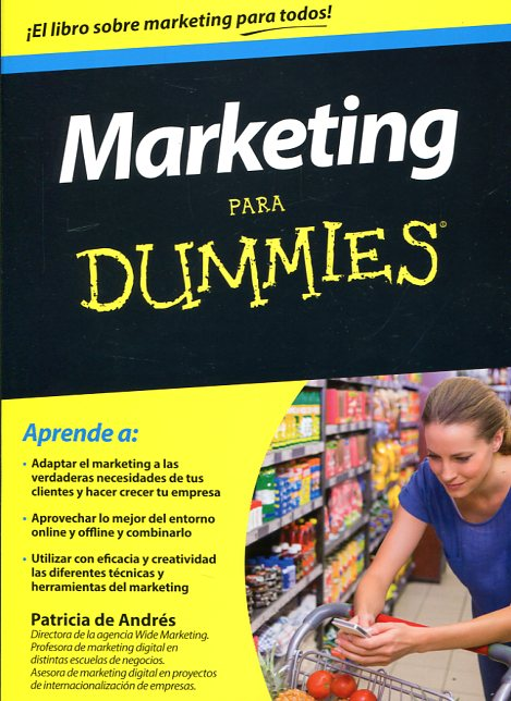 Marketing para dummies. 9788432902673