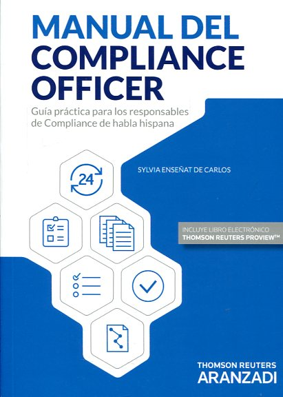 Manual de compliance officer. 9788490999080