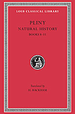 Natural History, Volume III: Books 8-11. 9780674993891