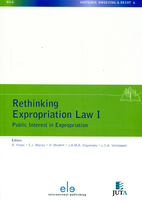 Rethinking expropriation Law I. 9789462366312