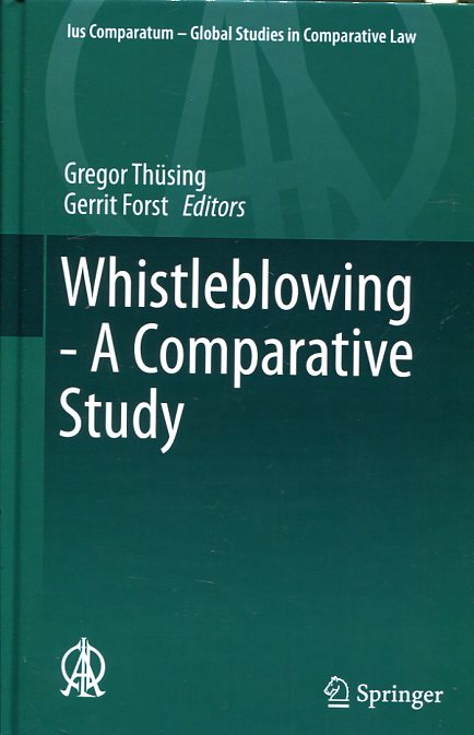 Whistleblowing. 9783319255750