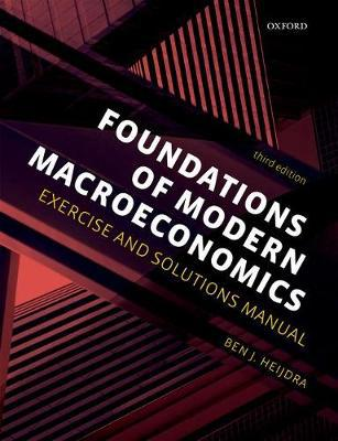 Foundations of modern macroeconomics. 9780198784142