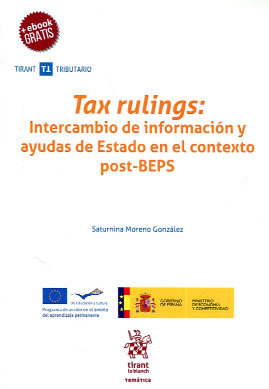 Tax rulings. 9788491695288