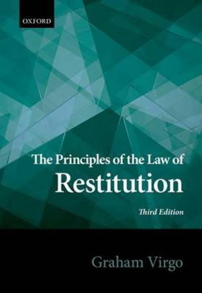 The principles of the Law of restitution. 9780198726395