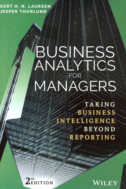 Business analytics for managers. 9781119298588