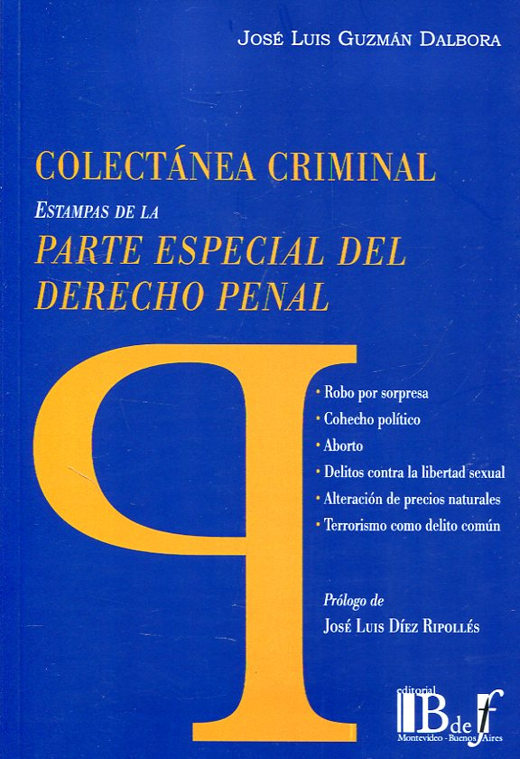 Colectanea criminal