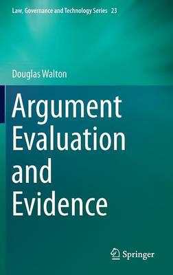 Argument evaluation and evidence. 9783319196251