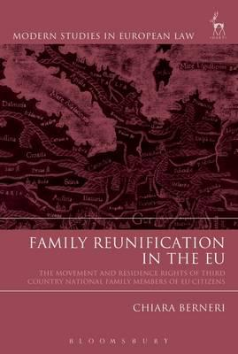 Family reunification in the EU. 9781509904785