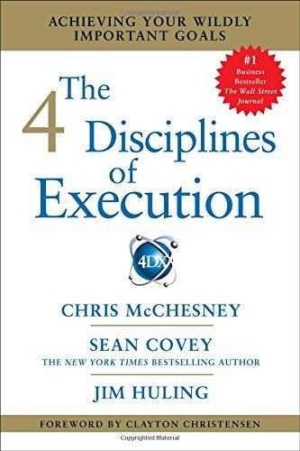 The 4 disciplines of execution . 9781451627060