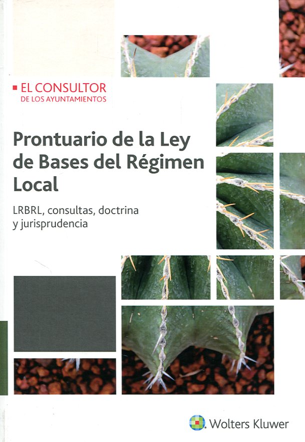 Prontuario de la ley de bases del régimen local. 9788470527432