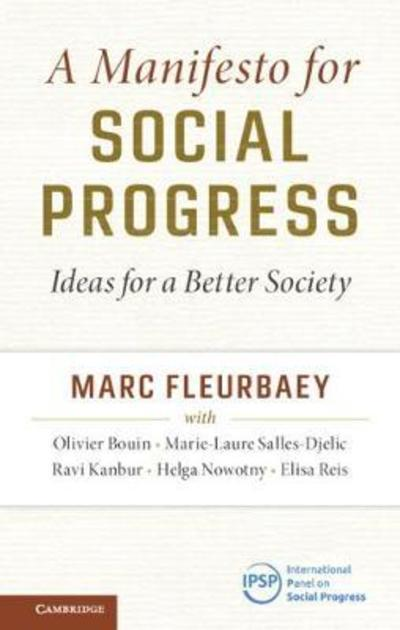 A manifesto for social progress. 9781108440929
