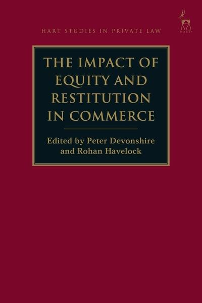The impact of equity and restitution in commerce. 9781509915644