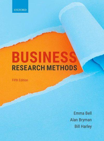 Business research methods. 9780198809876