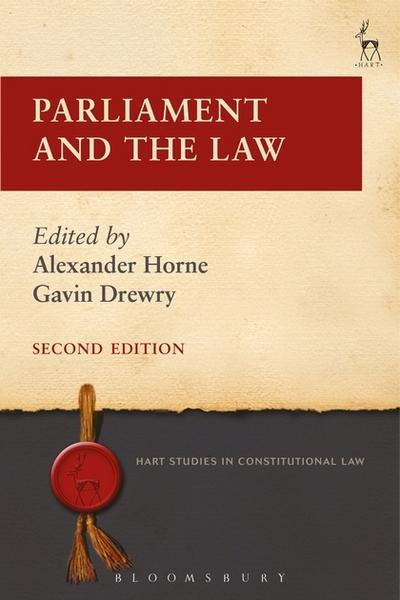 Parliament and the Law. 9781509908714