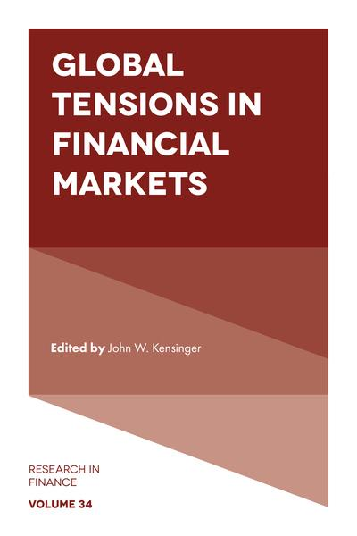 Global tensions in financial markets. 9781787148406